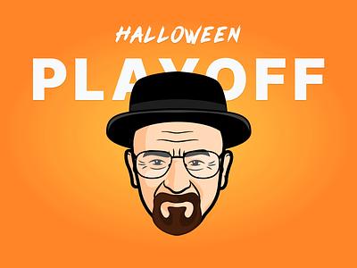 Walter White (Heisenberg) vinny design breaking bad heisenberg walter white stickers sticker mule rebound playoff halloween costume contest