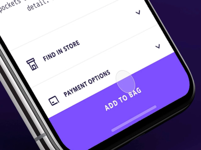 Vakkorama iOS App ecommerce design design ecommerce prototype animation photoshop fashion prototype figma ios interaction app principle mobile ui ux apple iphone