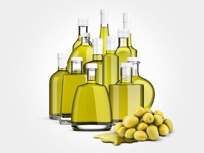 Olive Oil Mockup Bundle