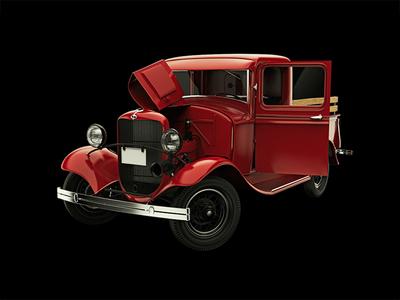 Ford Model B - 3D Model