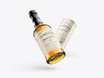 Whisky Mockup - Scotch vol. 3
