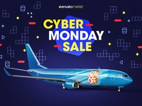 [50% OFF] Boeing 737 Aircraft Livery Mockup