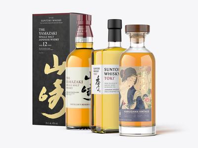 Whisky Mockup Pack - Japanese