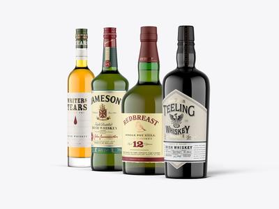Whiskey Mockup Pack - Irish