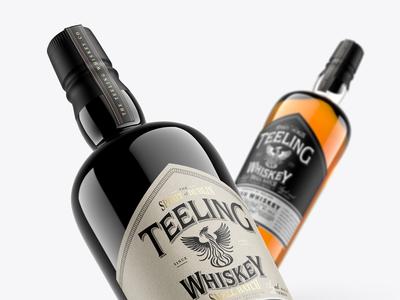 Whiskey Mockup Pack - Irish (Teeling preview)