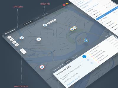 Map Application UI