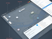 Map Application UI