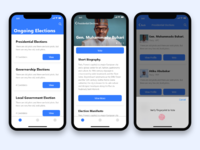 Voting app - Case study IOS