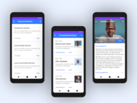 Voting app - Case study android