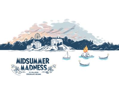 Midsummer Madness illustration