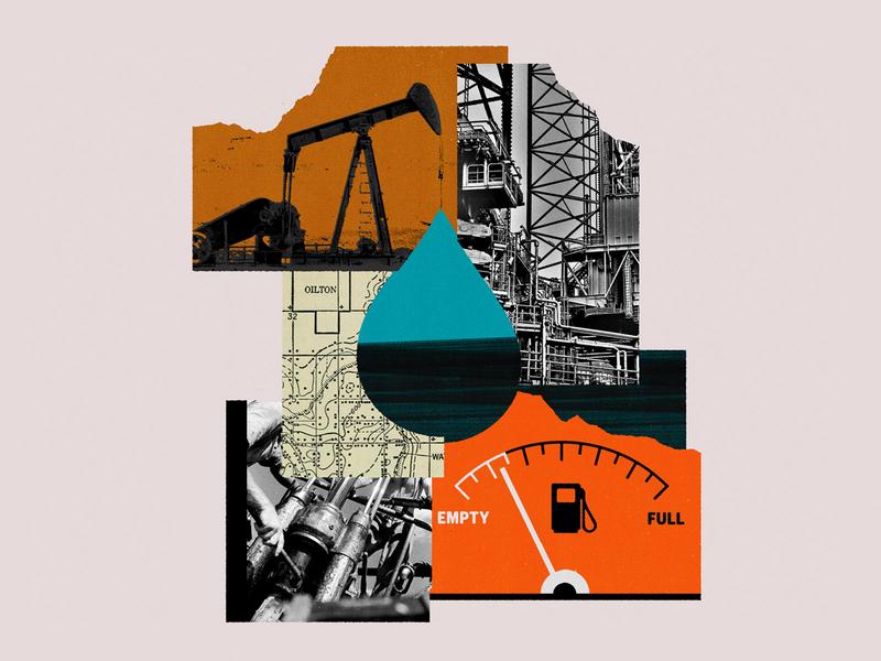 230 quartz climate change renewables energy economics fossil fuels oil editorial illustration collage illustration