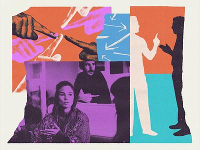 265 cutout collage illustration