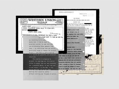 Google DNI | Newsroom Dictionary | «Cache» emails leak secret documents collage editorial illustration illustration