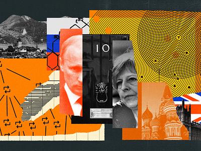 190 war social media spies britain russia uk atlantic collage editorial illustration illustration