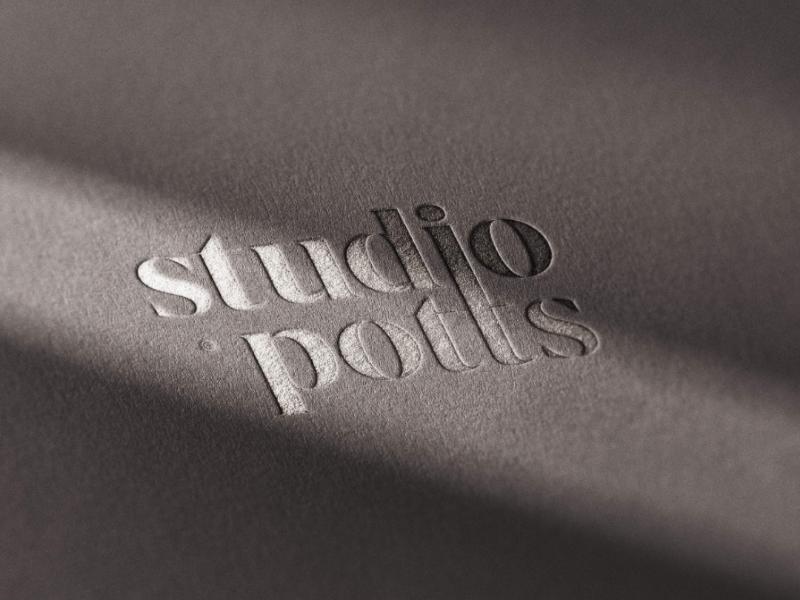 Studio Potts Brand Identity studio type typography logo designer logo design logo design graphic design branding brand strategy brand identity brand