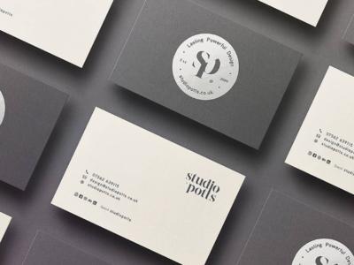 Studio Potts: Business Card Design