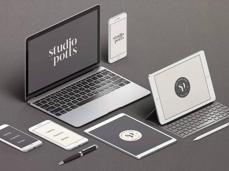 Studio Potts: Screensavers typography type studio logo designer logo design logo graphic design design branding brand strategy brand identity brand