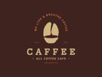 Caffee | All Coffee Cafe Primary Logo