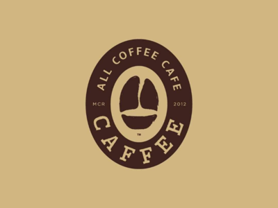 Caffee | All Coffee Cafe - Secondary Logo