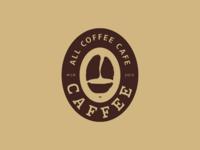 Caffee | All Coffee Cafe - Secondary Logo