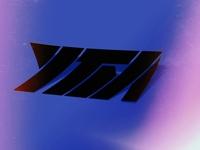 YTM Logo Design Sticker