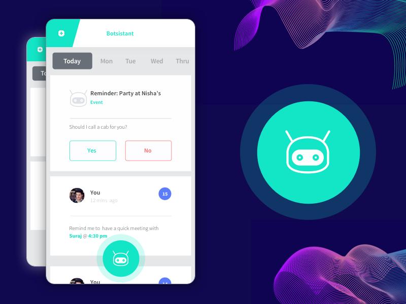 Transactional Chatbot App Concept by Abhinav Soni on Dribbble