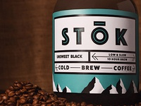 Stok Cold Brew Label