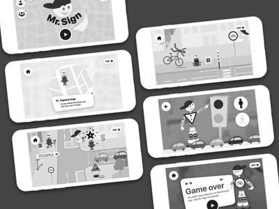 Traffic Code Learning - UX learning games game app learning app traffic code children app trafficcodelearning trafficcodeapp ui ux user experience