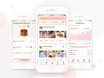 Cake App - UI (2/3)