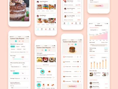 Cake App - UI (3/3)