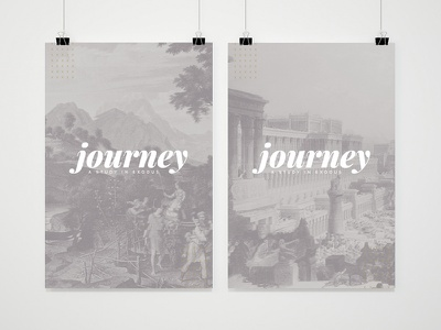 Journey Sermon Series bible photoshop grayscale branding sermon series design church
