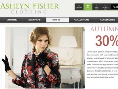 Ashlyn Fisher Clothing