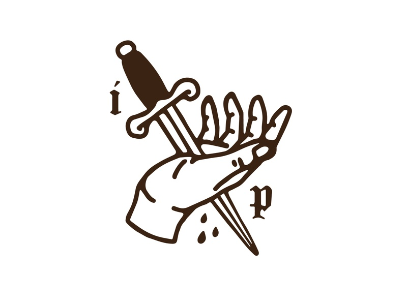 Isabella Payne logo tattoo art branding vector logo