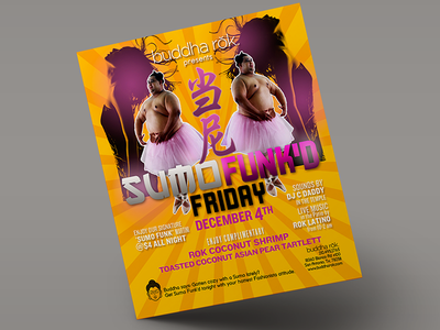 Event Flyer collateral print