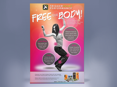 Zumba Poster poster print collateral