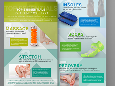 Email Infographic design health infographic email