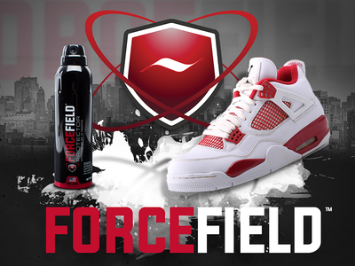 Forcefield Project Banner showcase banner kicks design