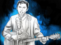 Ritchie Valens Digital Illustration