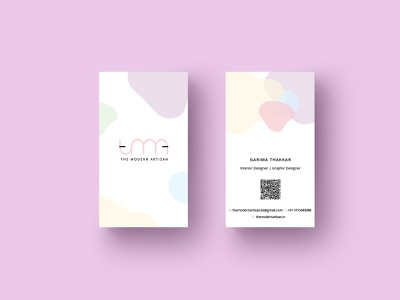 Business Card for self branding photoshop business card design business card logo