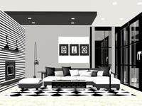 Living Room-Interior View