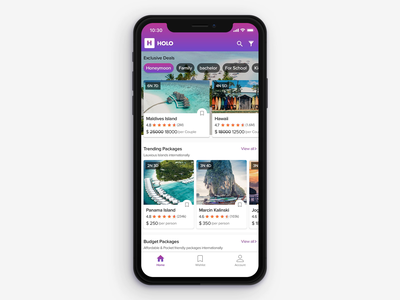 Travel Booking App (Comparison-Concept) ux  ui animation mobile app logo guide iphonex hotel booking honeymoon holo comparision compare screen compare products compare hotels colors branding bookmark cards