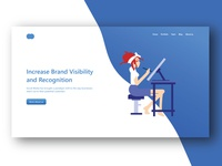 Creative agency home page