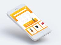 Fruits eCommerce Ui concept