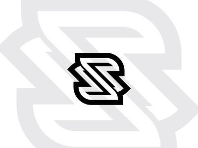 s letter logo concept.