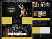 Live Vigour Landing Page