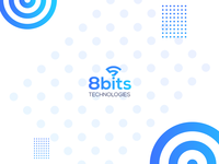 8bits Technologies Brand identity design