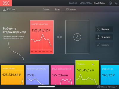 Diagram Creator dashboard drop blur graph chart analytics ui ux web diagram cards drag