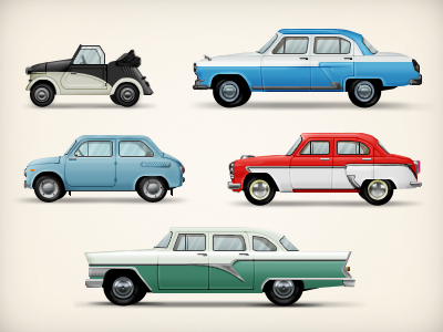 USSR cars vintage legacy car auto russia heritage ussr