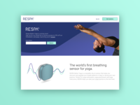 Respa Better Yoga Landing Page
