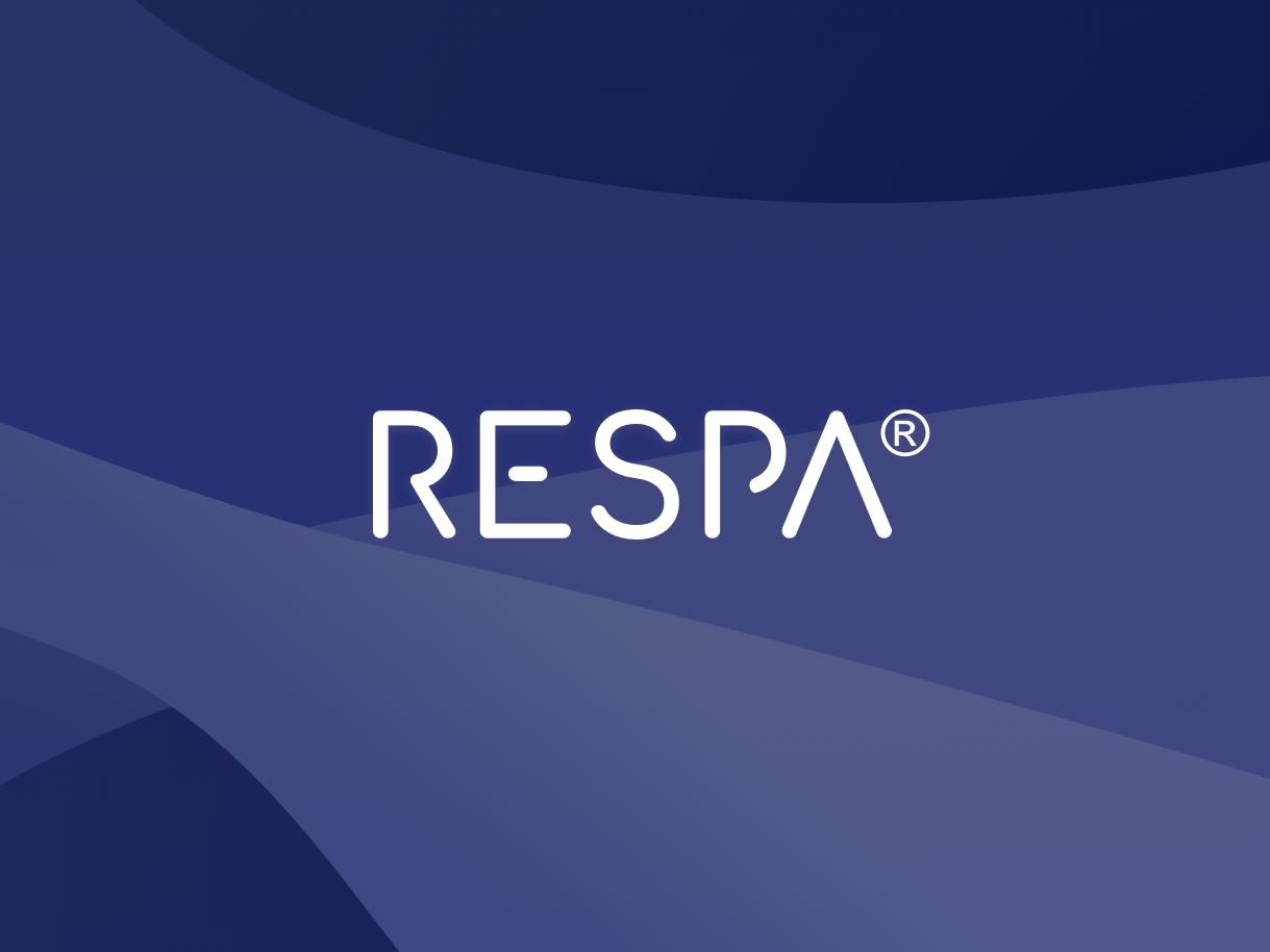 Respa Logo wearables yoga breathing breathe font font design custom font type design type typography vector logo design branding brand identity brand design branding logo designer logo design logotype logo